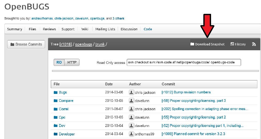 OpenBUGScode1