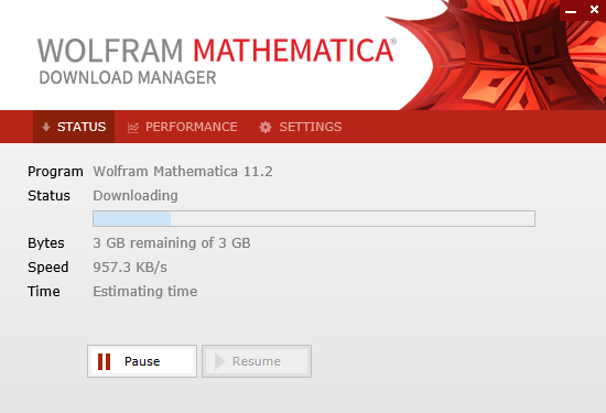 Wolfram Mathematica Download Manager